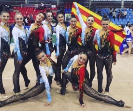 INEF United, subcampió del Campionat d'Espanya de GEG