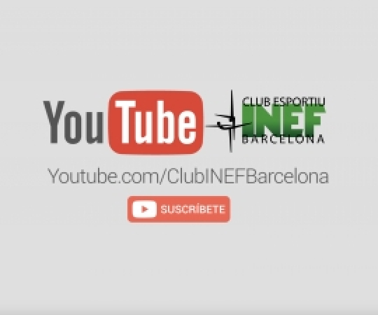 Objectiu: 1000 subscriptors al YouTube del Club Esportiu INEF Barcelona