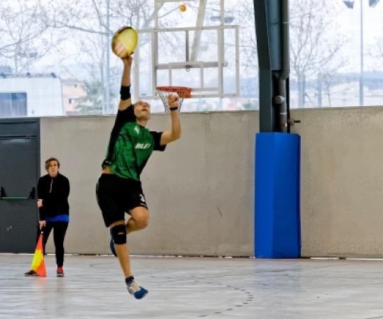 Sant Iscle de Vallalta acull les semifinals de consolació de la Lliga Catalana de tamborí indoor en categoria masculina