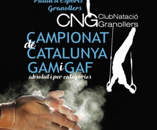 Campionat de Catalunya GAM i GAF absolut per nivells a Granollers