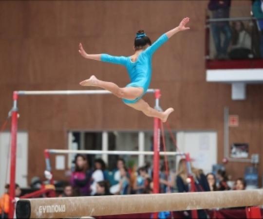 Torna la competició gimnàstica a Hostalets de Balenyà