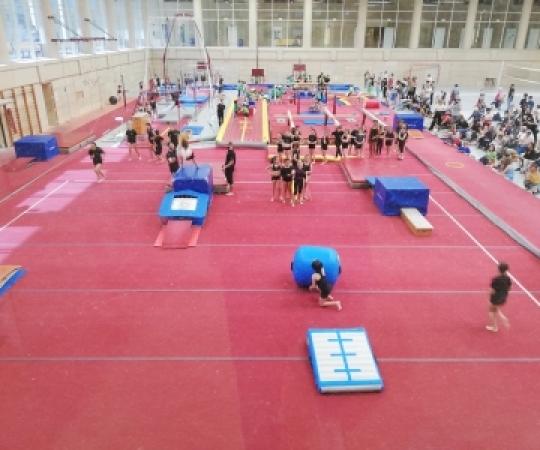 Primer dia de les Escoles Esportives a INEF Barcelona