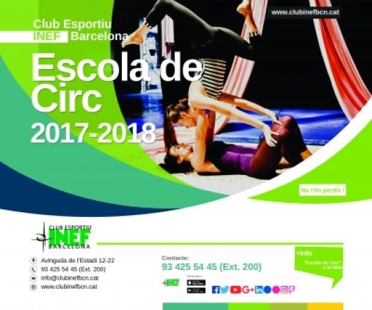 Inscripcions obertes per l'Escola de Circ 2017-2018
