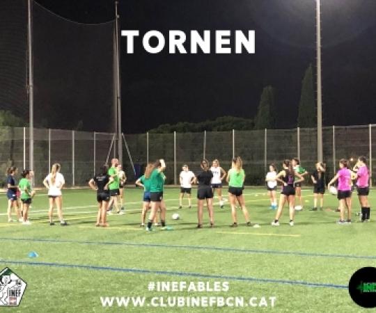 Óssos i Ósses tornen als entrenaments a INEF Barcelona aquest dimarts