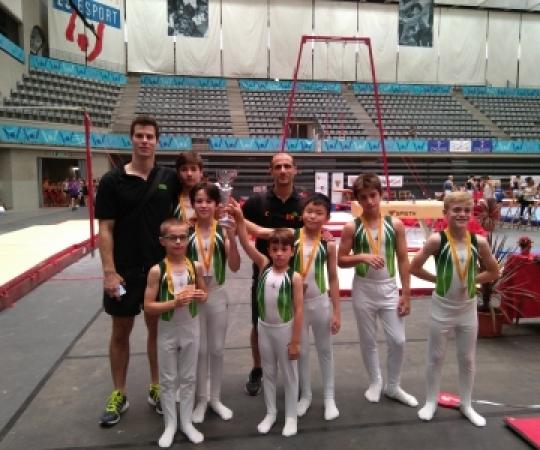 Galeria: Campionat de Catalunya GAM i GAF absolut per nivells a Granollers