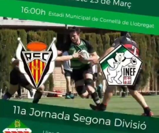 Prèvia: RC Cornellà vs INEF Barcelona, J11 Lliga Catalana Segona Divisió
