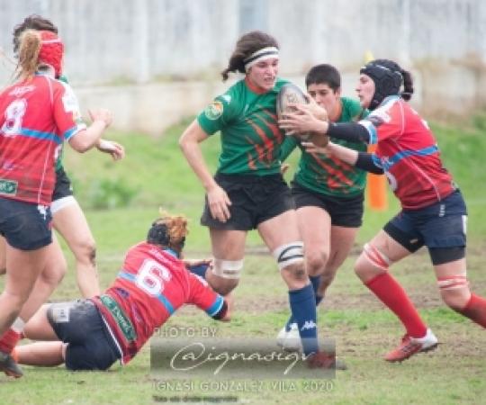 Galeria: INEF-L'Hospitalet vs Sanse Scrum RC, J10 Lliga Iberdrola rugby femení 2019-2020