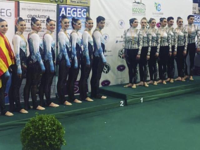 Galeria: Campionat d'Espanya de GEG Igualada 2017